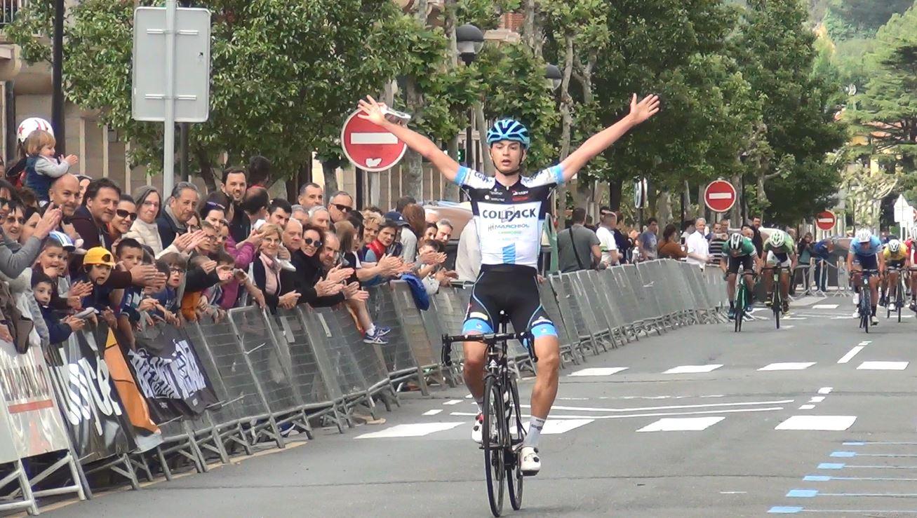 Alessandro Covi vince la terza tappa della Vuelta al Bidasoa 2018