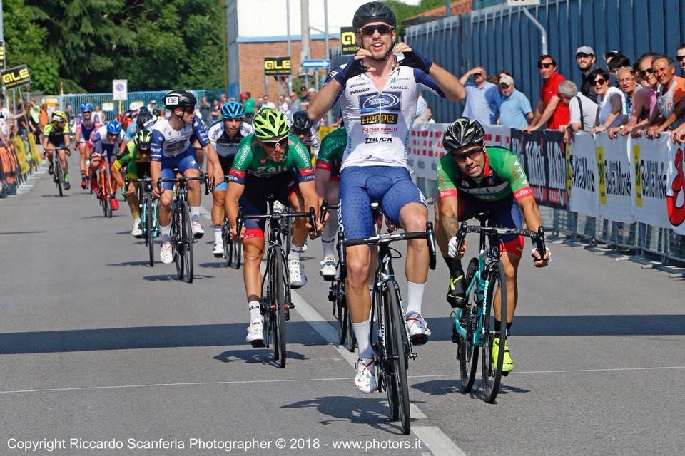 Leonardo Fedrigo vince l'Alta Padovana Tour 2018