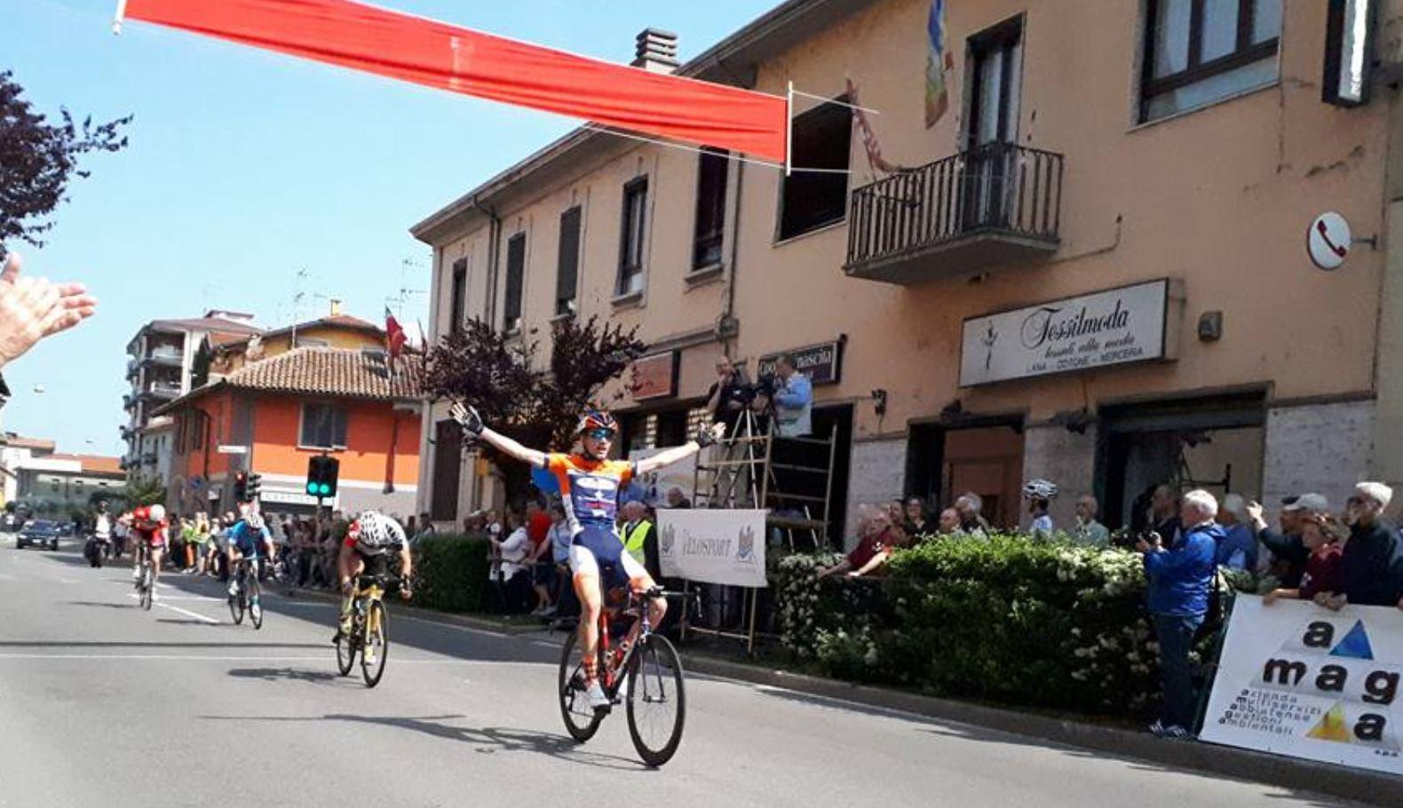 Lorenzo Gobbo vince ad Abbiategrasso