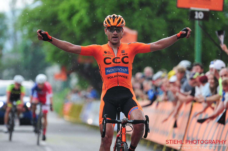 Lukasz Owsian vince la terza tappa del CCC Tour