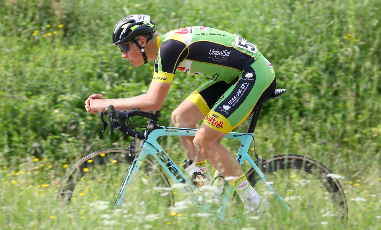 Rasmus Iversen vincitore della cronometro di Boccaiano
