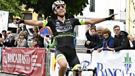 Andrea Piccolo vince il Gp del Roero 2018