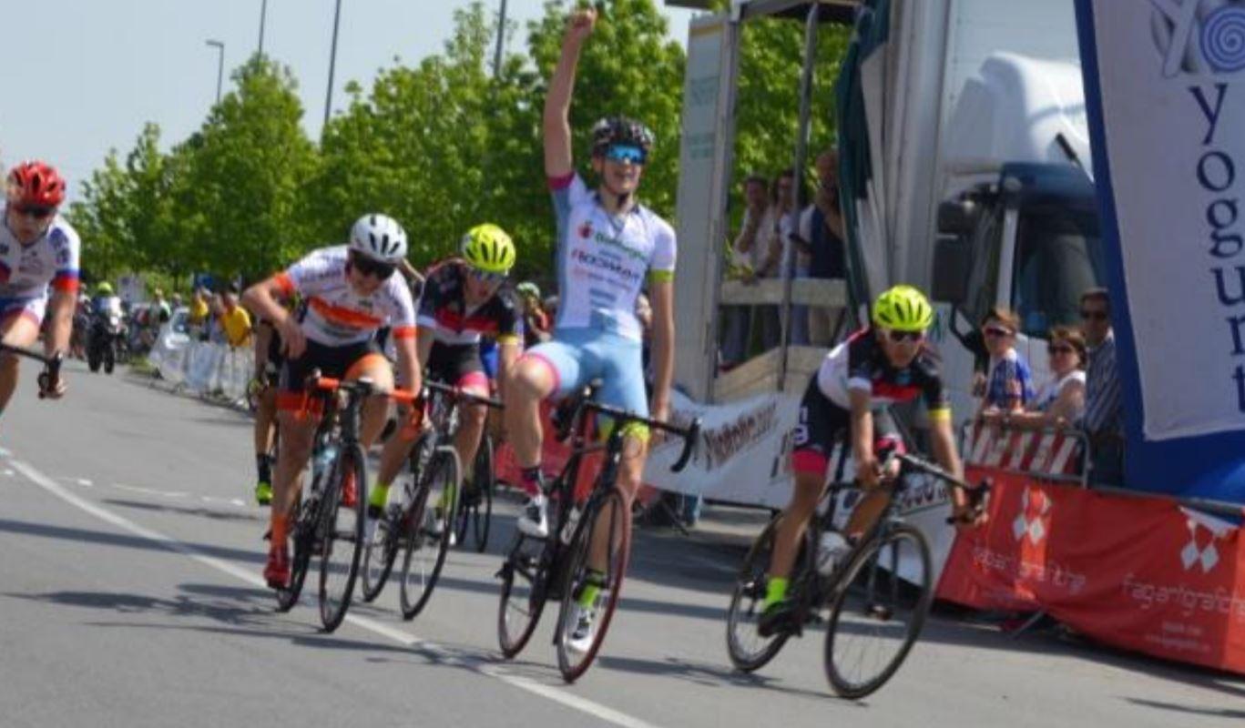 Luca Portigliatti vince la gara Allievi di Pianezza