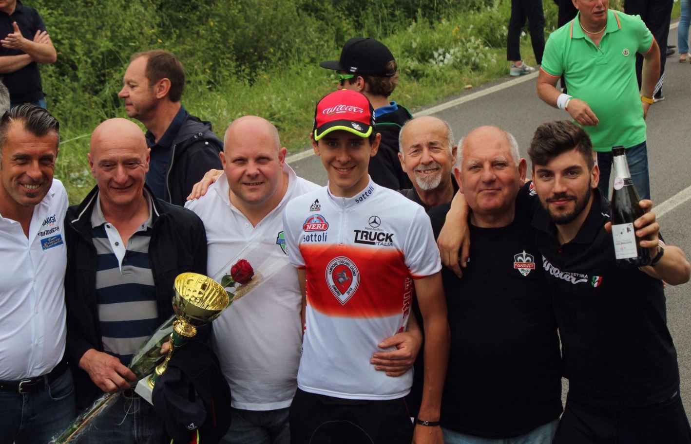 Antonio Tiberi campione toscano a cronometro Juniores