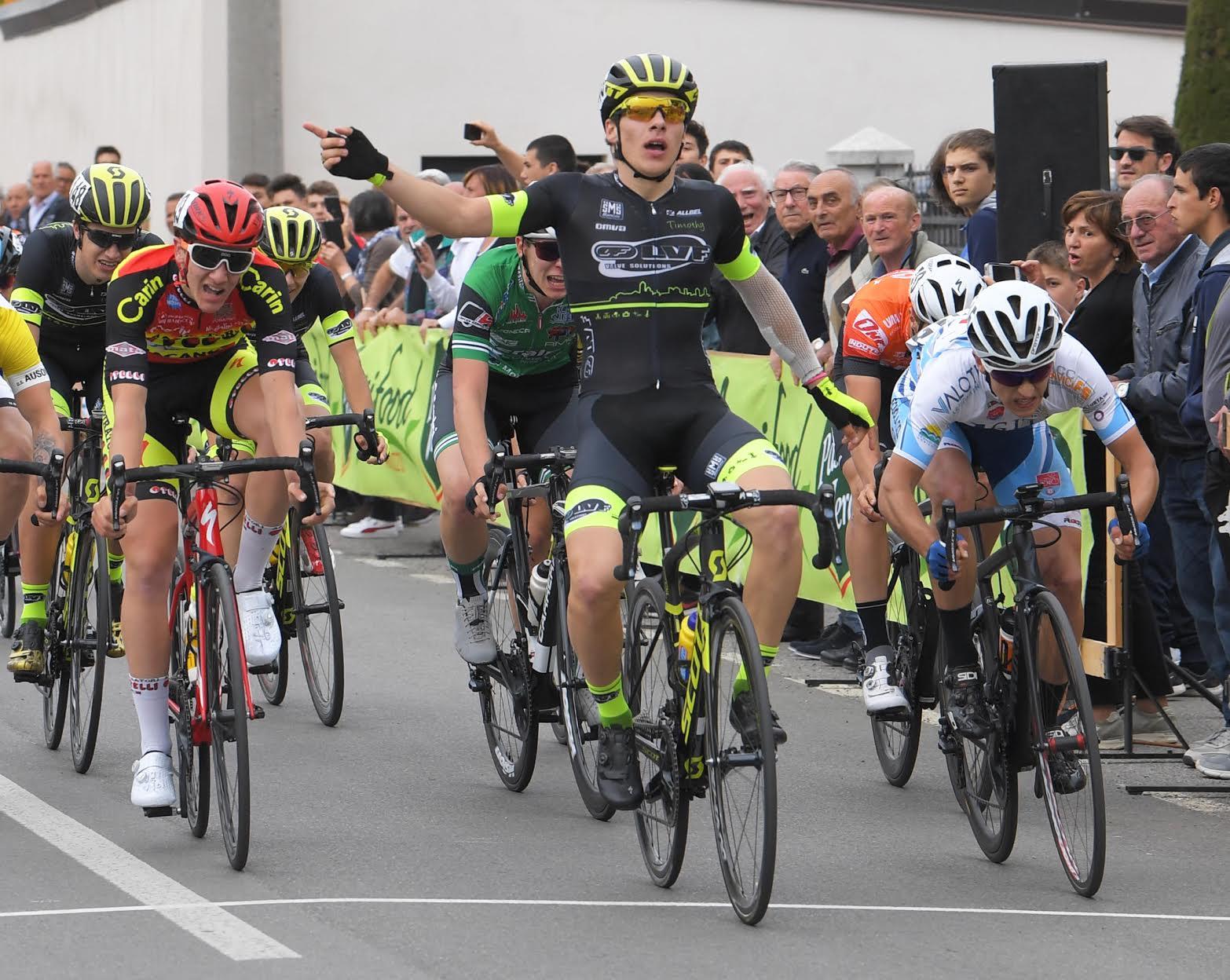 La vittoria di Tomas Trainini a Montichiari