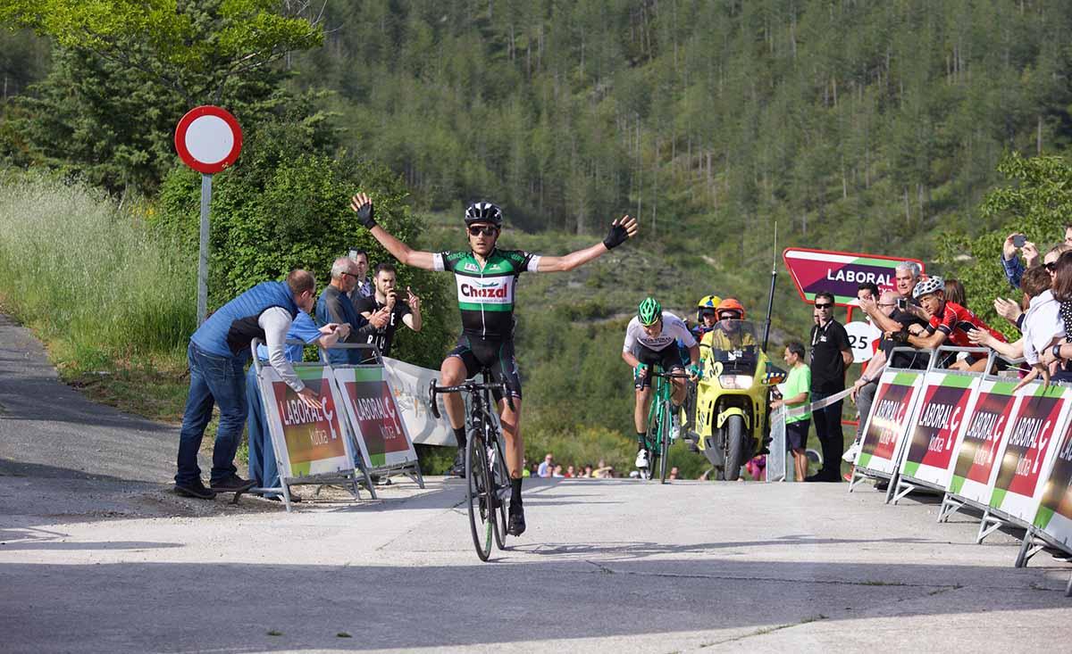 Florent Castellarnau vince la terza tappa della Vuelta a Navarra