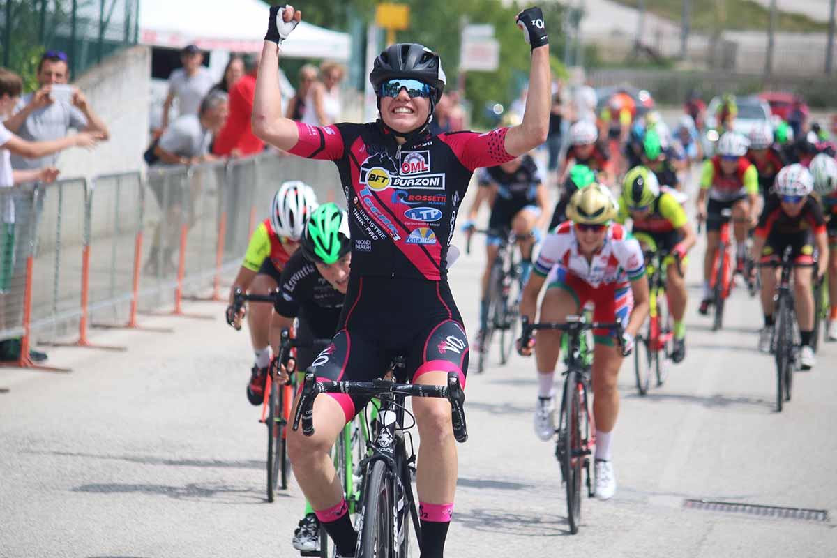 Silvia Zanardi vince la gara Donne Junior di Osimo Stazione