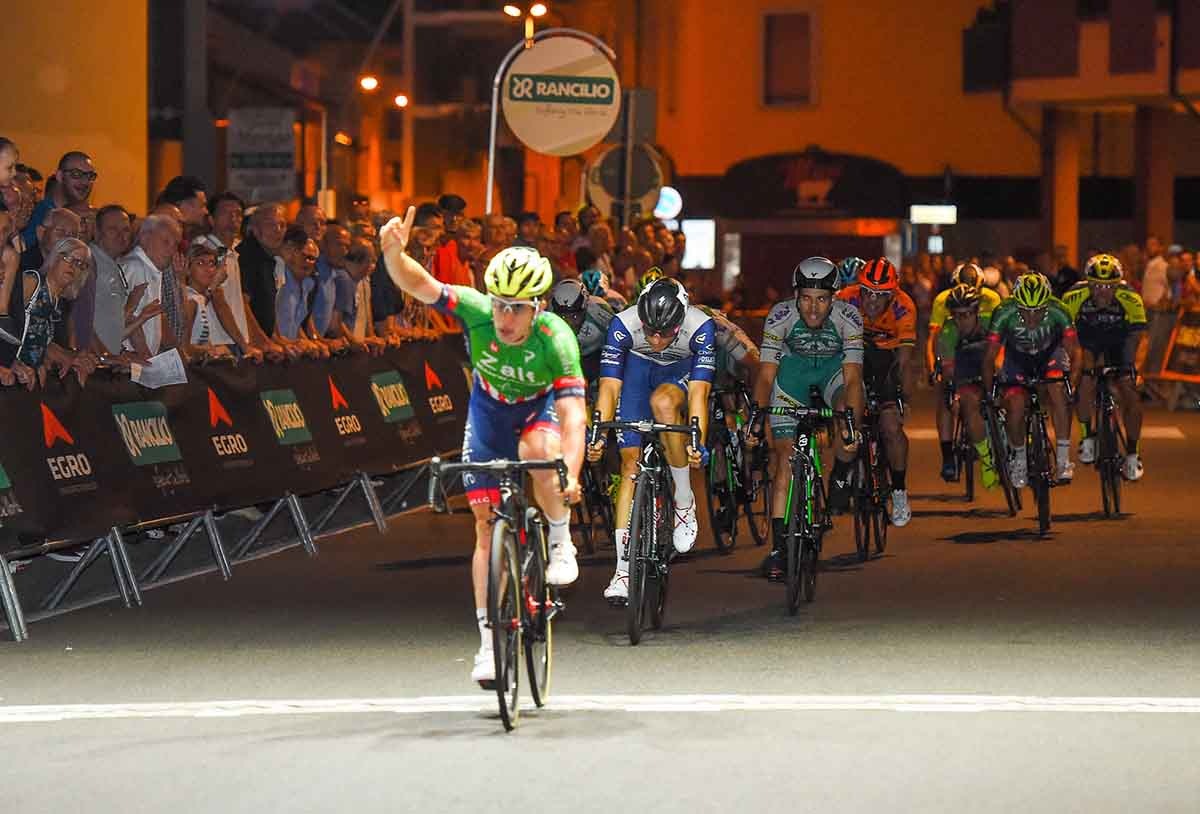 Alberto Dainese vince il Trofeo Rancilio 2018