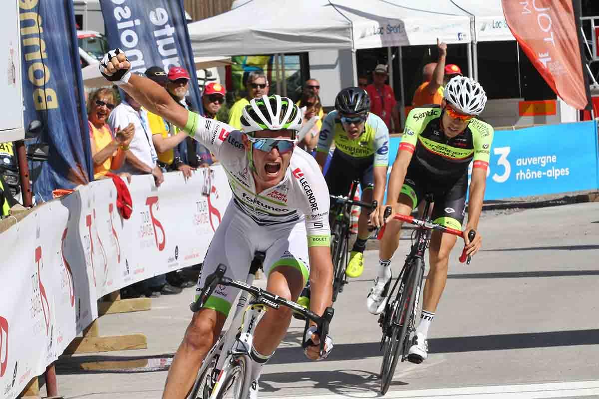 Maxime Bouet vince la prima tappa del Tour de Savoie Mont Blanc