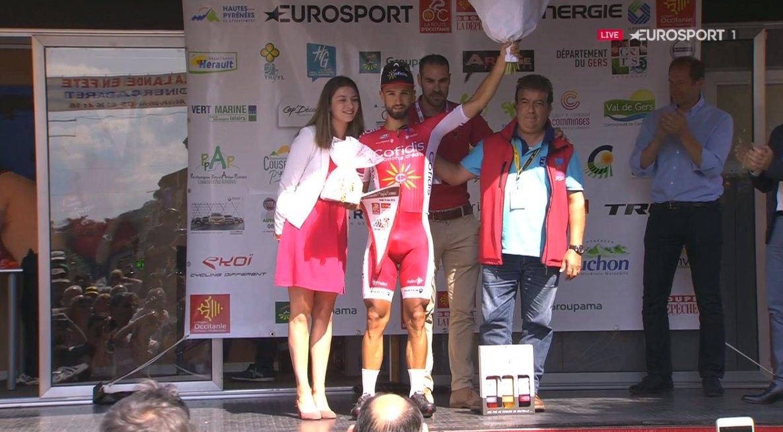 Nacer Bouhanni vince la prima tappa di La Route d'Occitanie