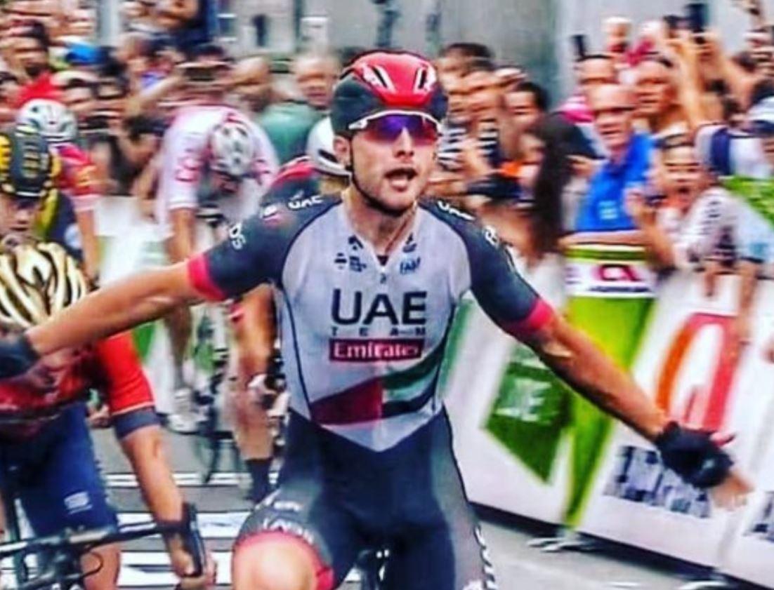 Simone Consonni vince la prima gara da professionista nella prima tappa del Tour of Slovenia