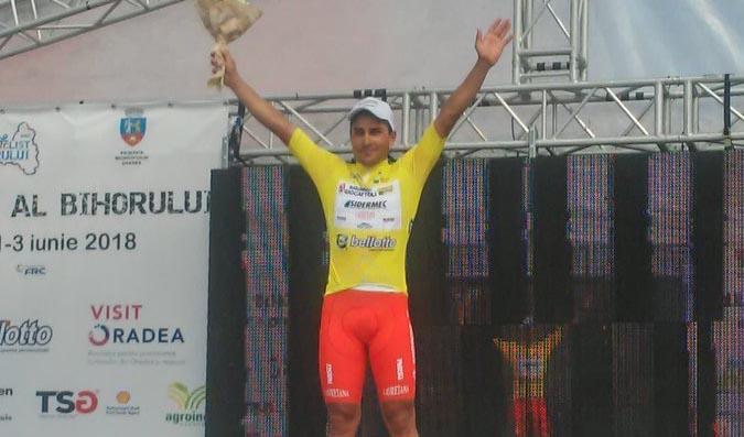 Matteo Malucelli vincitore della prima tappa del Tour of Bihor