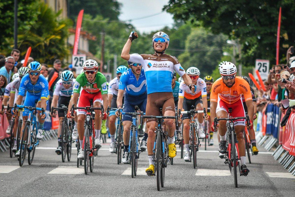 Clément Venturini vince la seconda tappa della La Route d'Occitanie 2018