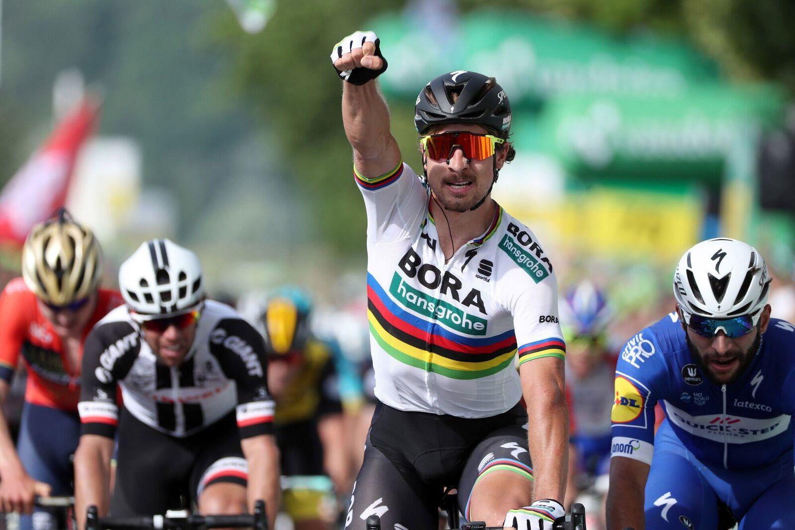 Peter Sagan vince la seconda tappa del Tour de Suisse