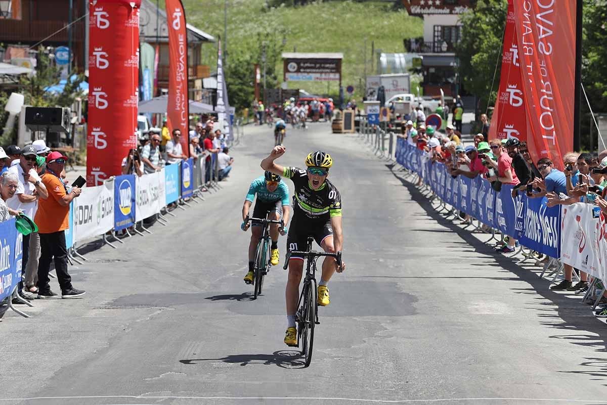 Victor Lafay vince la seconda tappa del Tour de Savoie Mont Blanc 2018