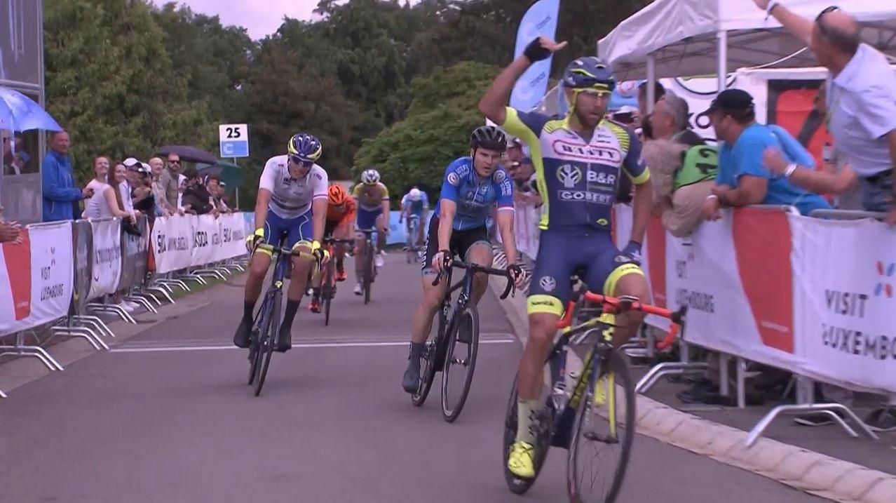 Andrea Pasqualon vince la seconda tappa del Tour de Luxembourg