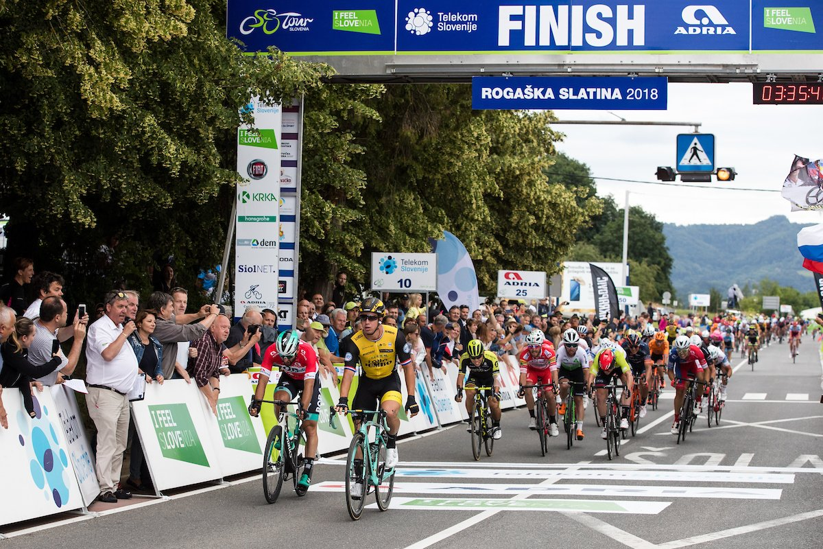 Dylan Groenewegen vince la seconda tappa del Tour of Slovenia