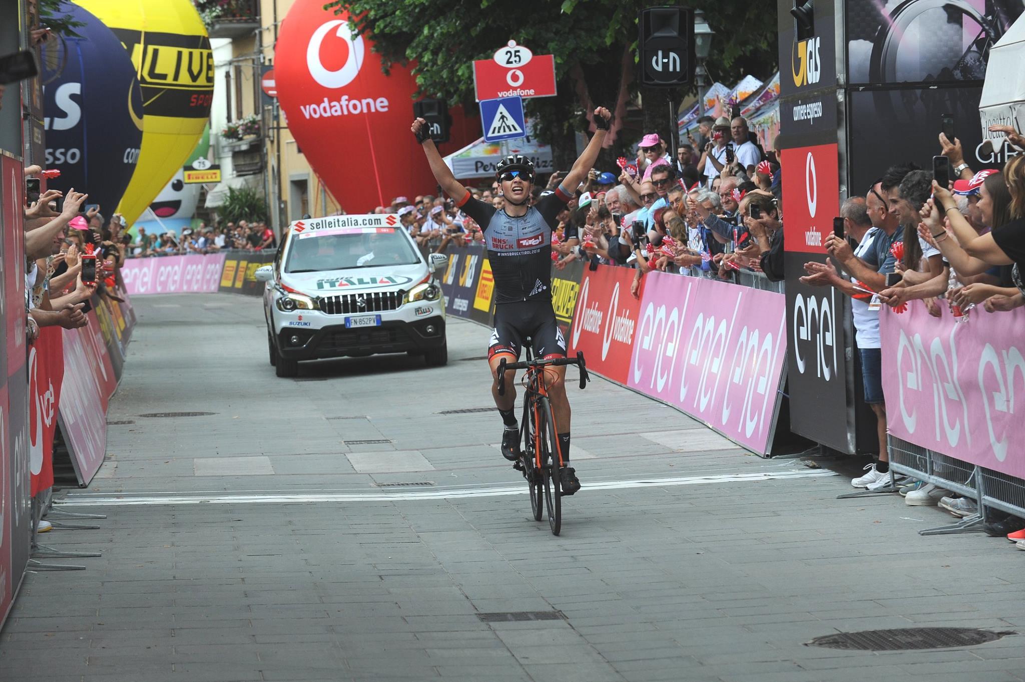 seconda tappa del Giro d'Italia Under 23 2018
