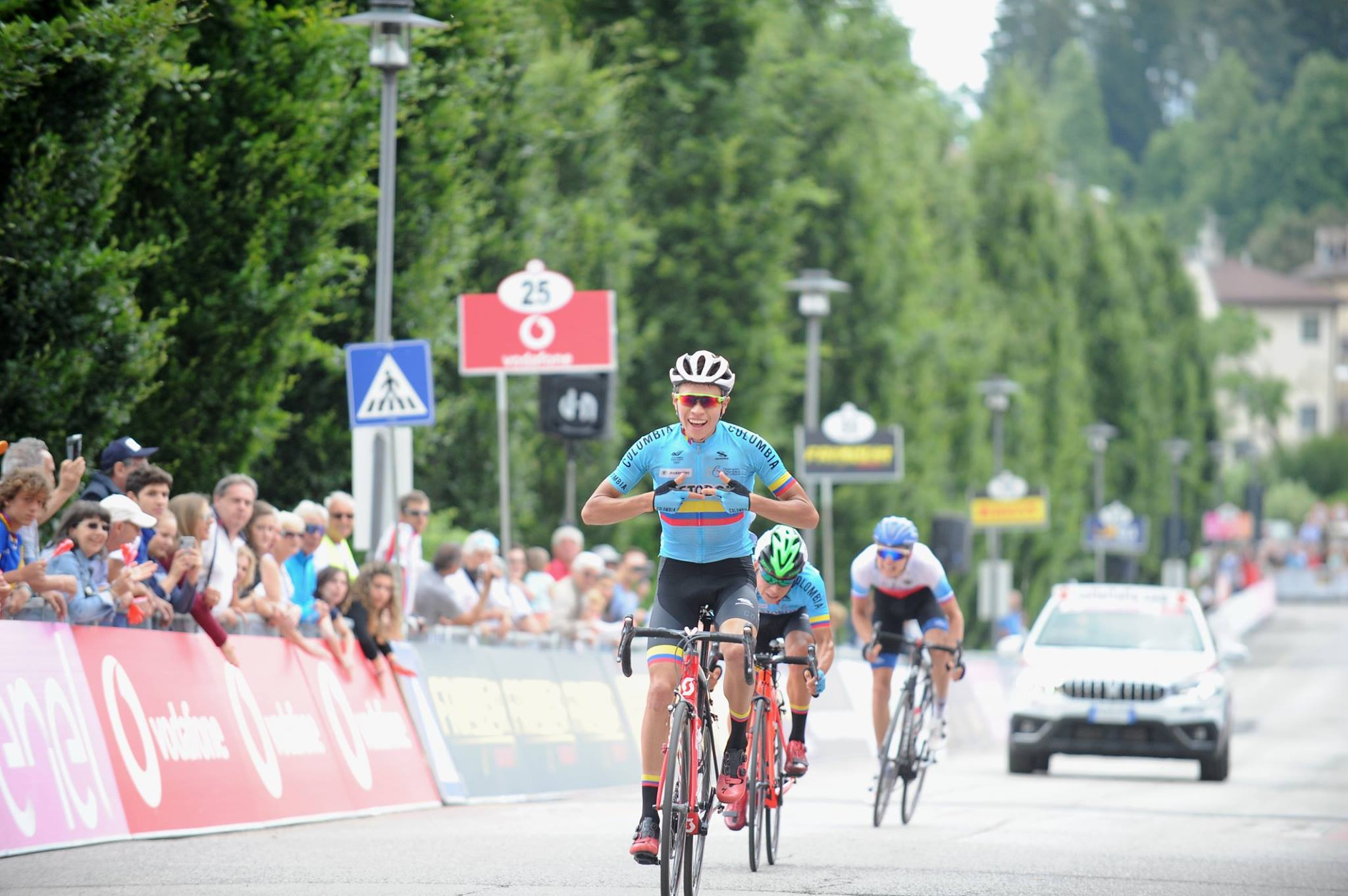 Cristian Munoz vince l'ottava tappa del Giro d'Italia Under 23 2018