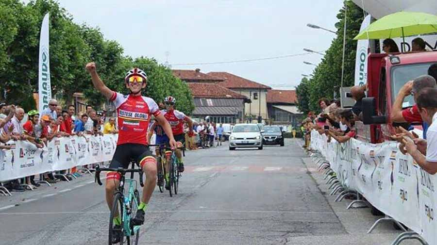 Edoardo Alleva vince a Sant'Albano Stura
