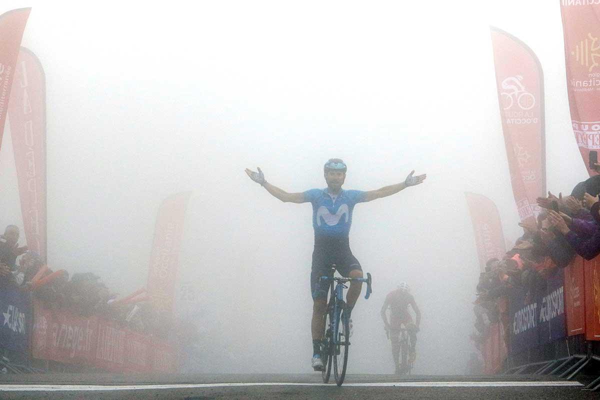 Alejandro Valverde vince la terza tappa e diventa leader di La Route d'Occitanie