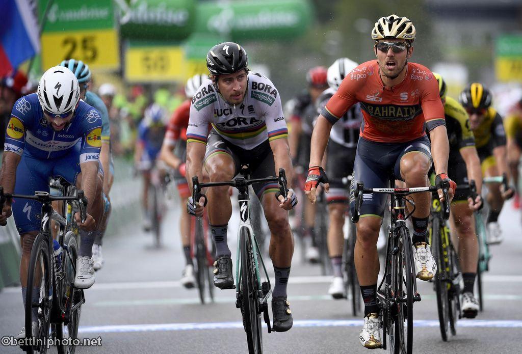 Sonny Colbrelli vince la terza tappa del Tour de Suisse 2018
