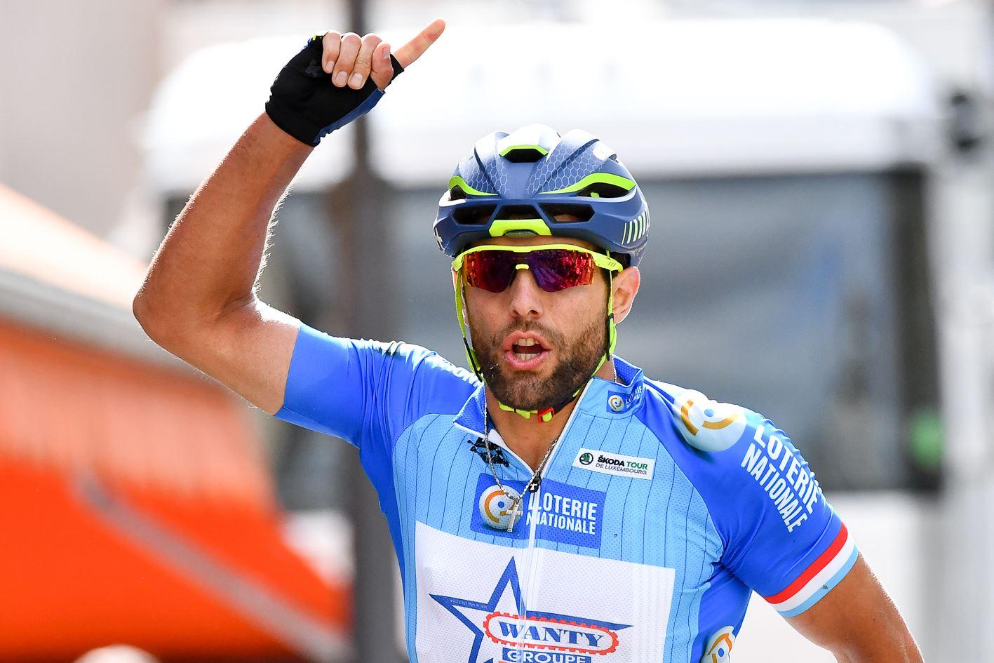 Andrea Pasqualon vince la terza tappa del Tour de Luxembourg