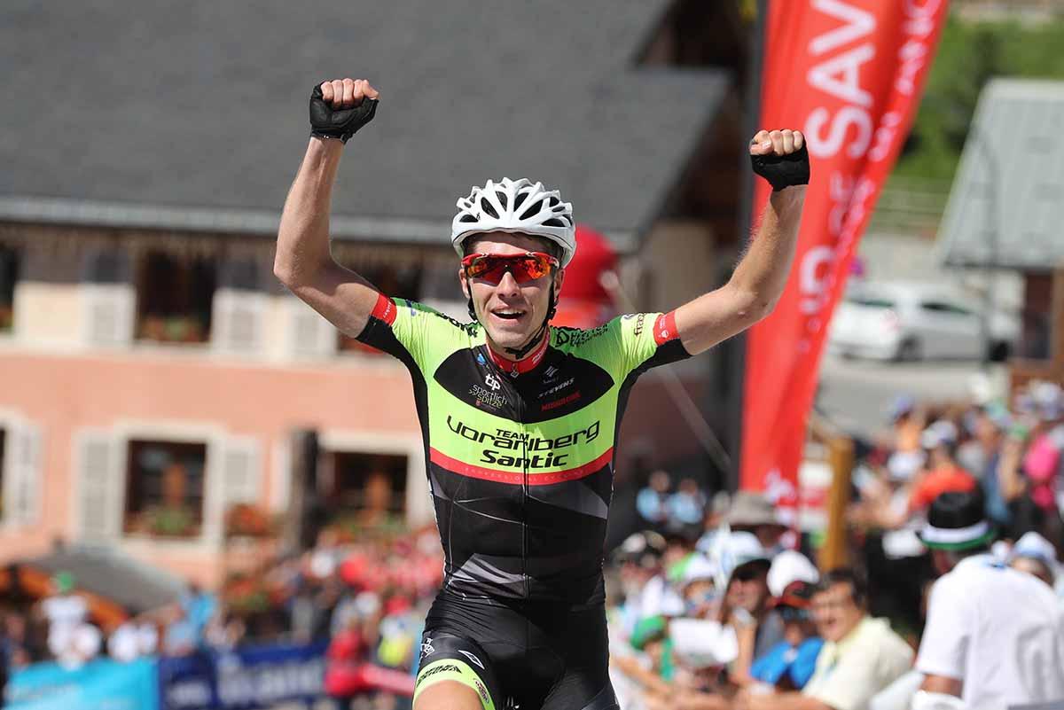 Patrick Schelling vince la quarta tappa del Tour de Savoie Mont Blanc