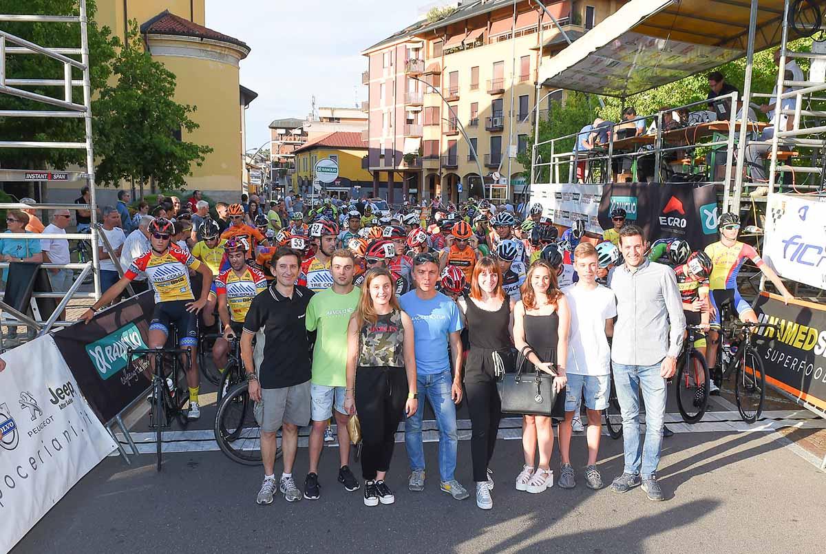 Alla partenza del Trofeo Rancilio 2018