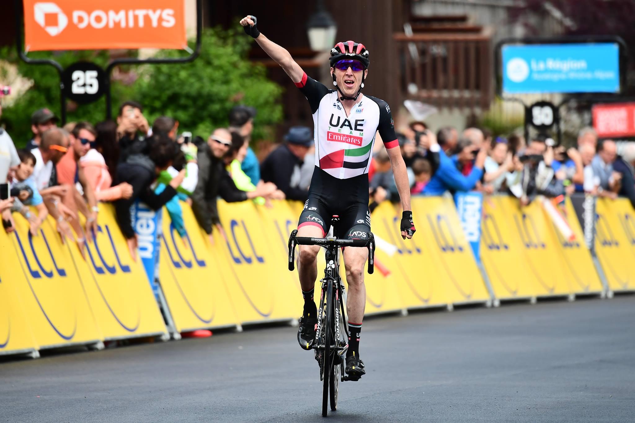 Daniel Martin vince la quinta tappa del Critérium du Dauphiné 2018