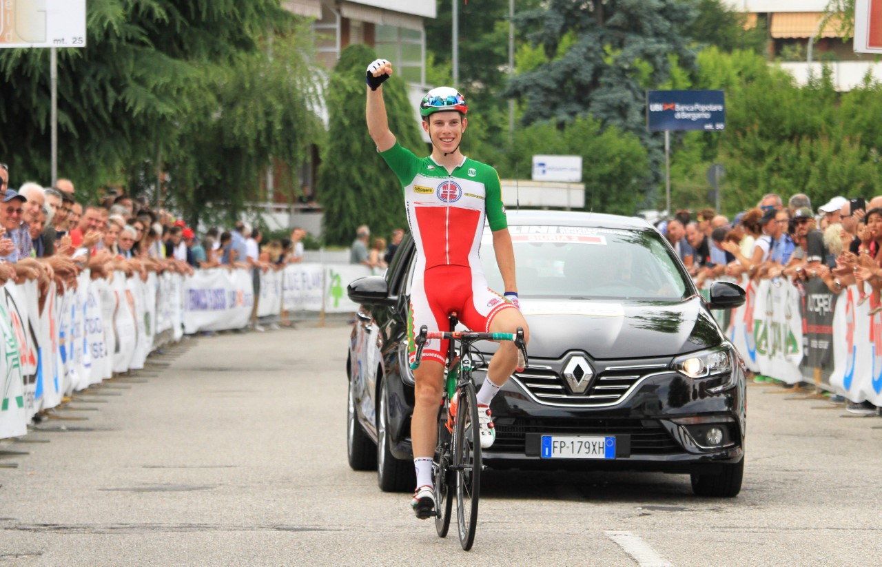 Alessio Acco vince il Gp dell'Arno 2018