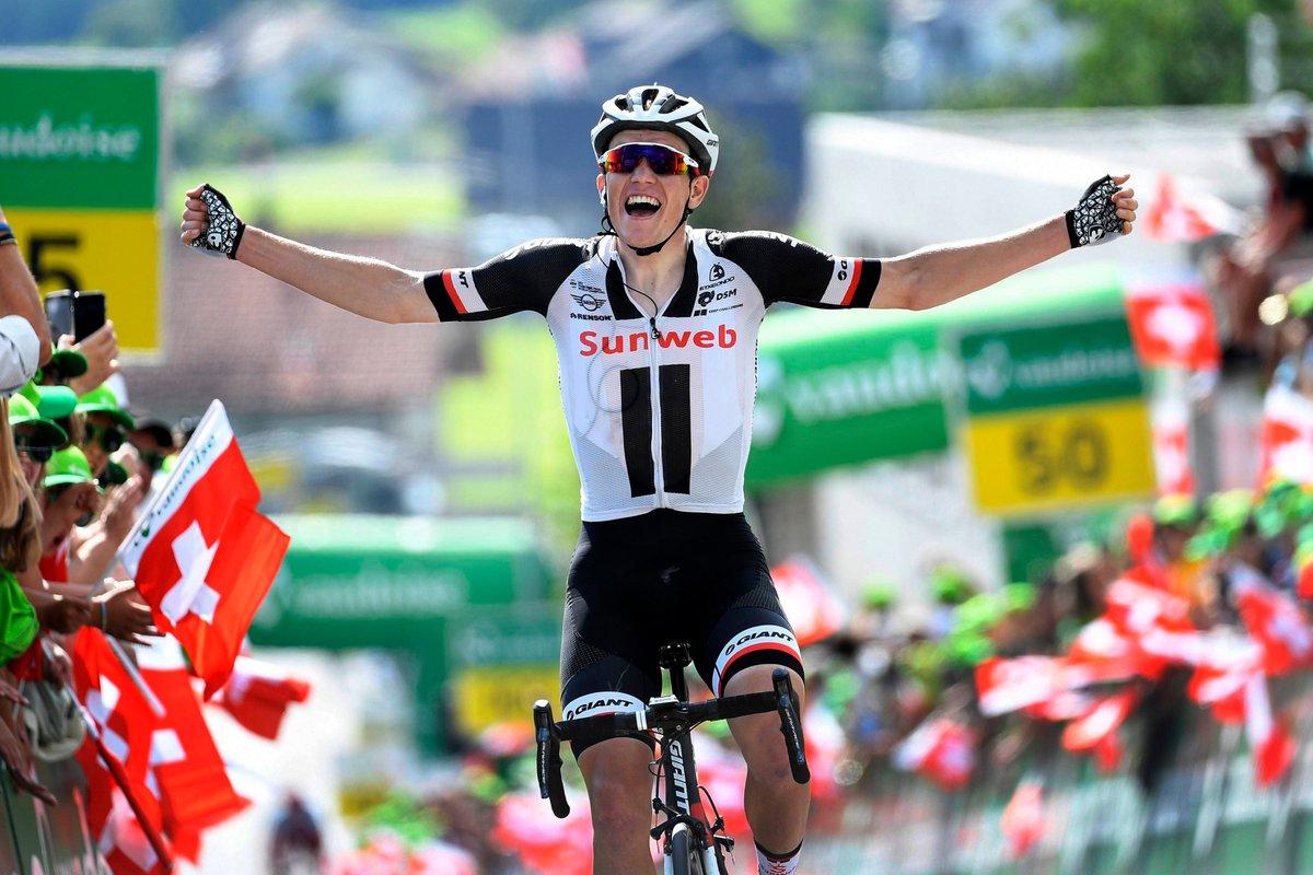 Søren Kragh Andersen vince la sesta tappa del Tour de Suisse