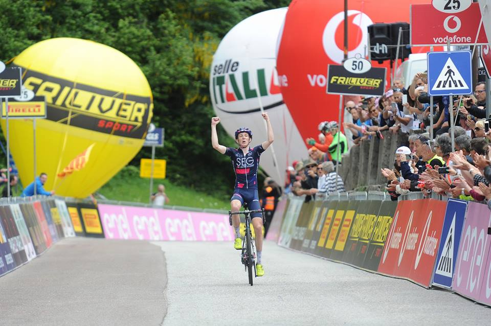 Stephen Williams vince la settima tappa del Giro d'Italia Under 23 2018