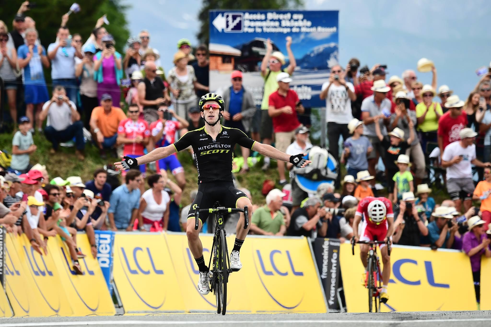 Adam Yates vince l'ultima tappa del Critérium du Dauphiné 2018