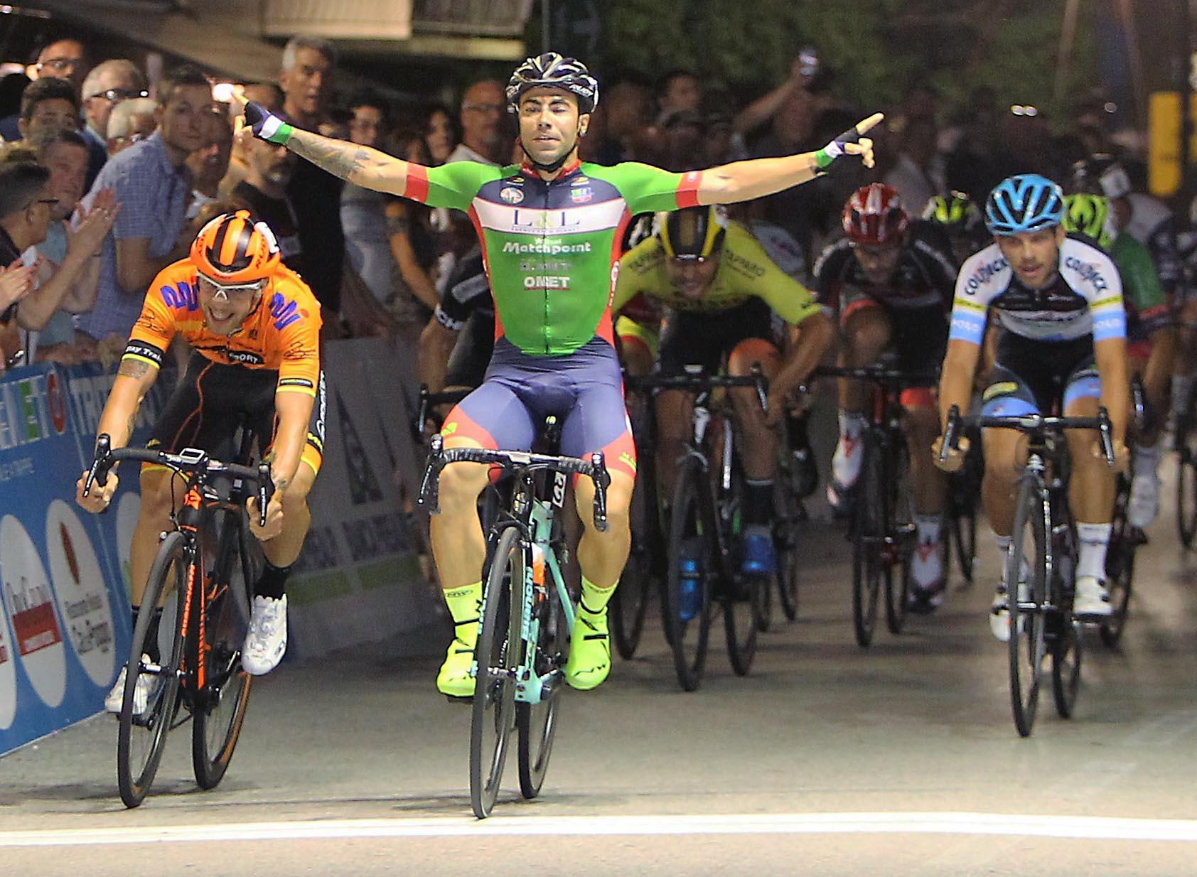 La vittoria di Gianmarco Begnoni nel Memorial Gianni Biz di Brugnera