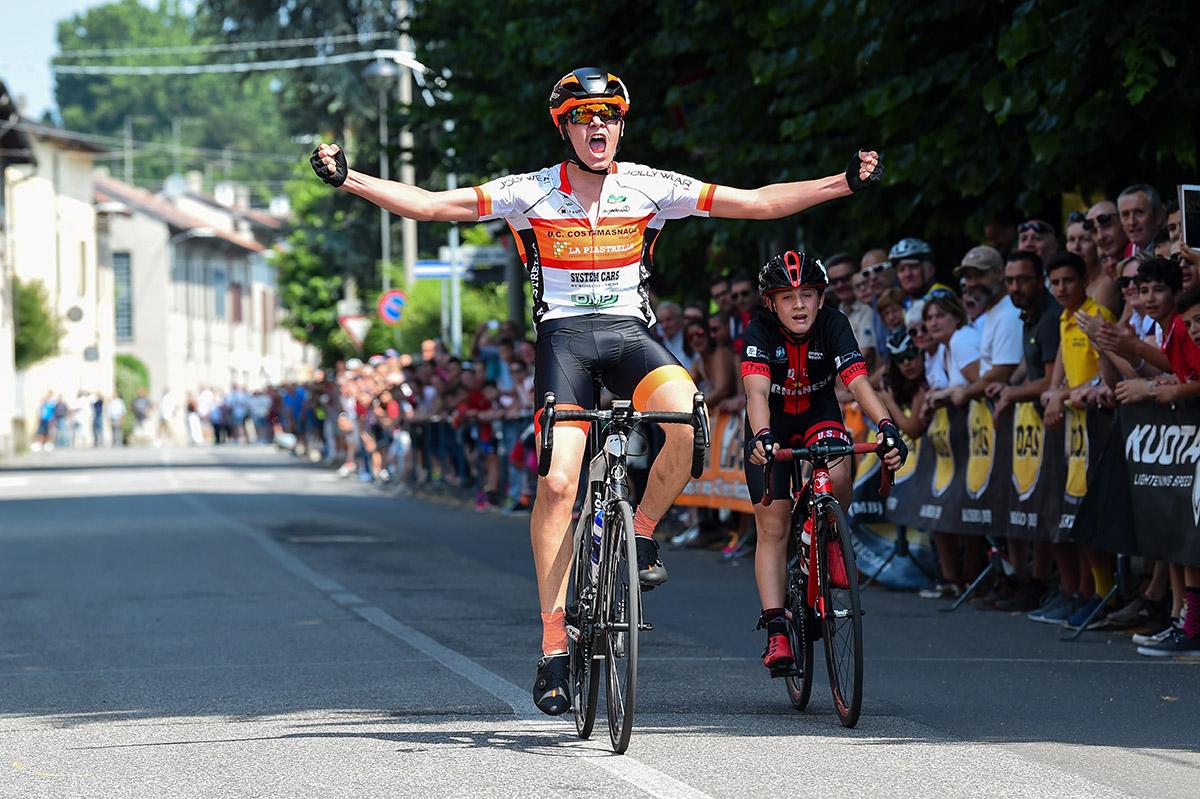 Alessandro Castagna vince a Sovico