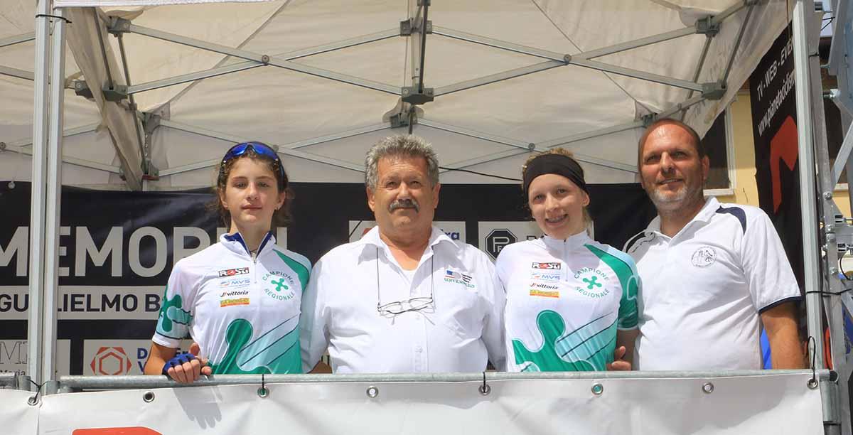 Gloria Caldera (Team Nuvolento) e Marta Pavesi (Valcar PBM) campionesse lombarde Donne Esordienti 2018