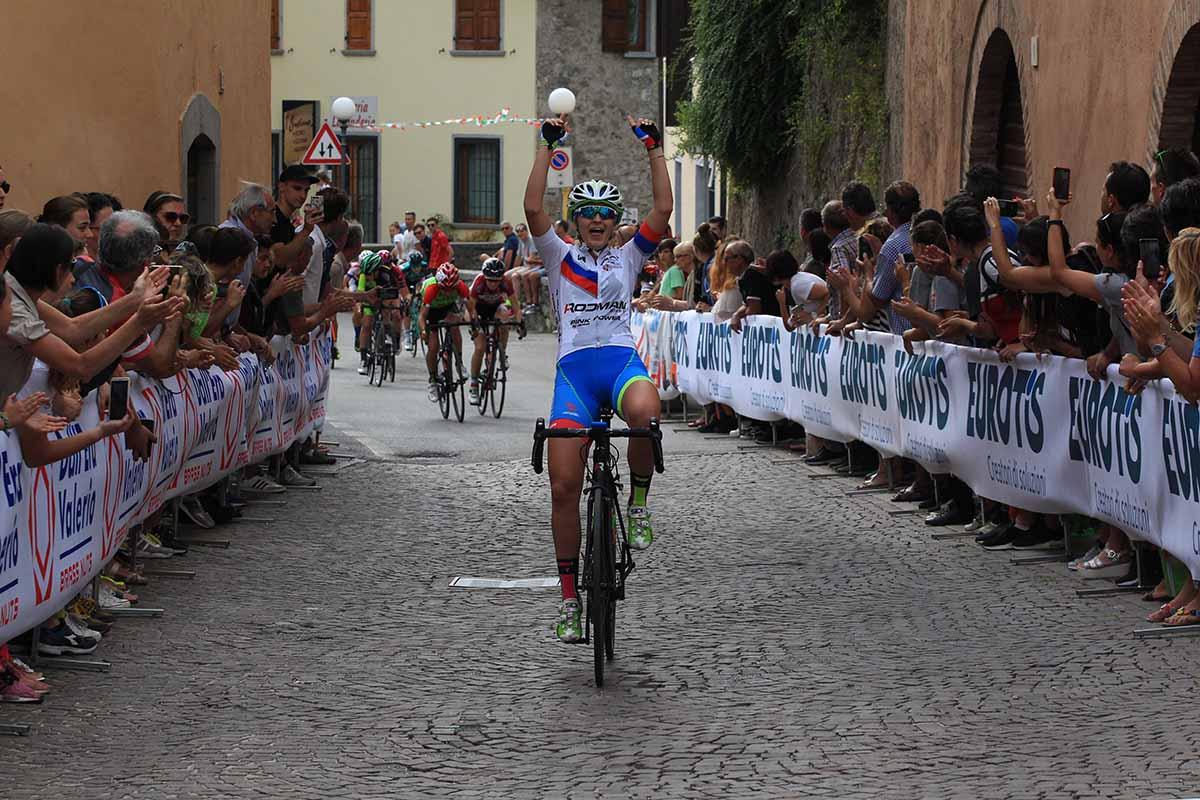 Eleonora Camilla Gasparrini vince la gara Donne Allieve di Sabbio Chiese