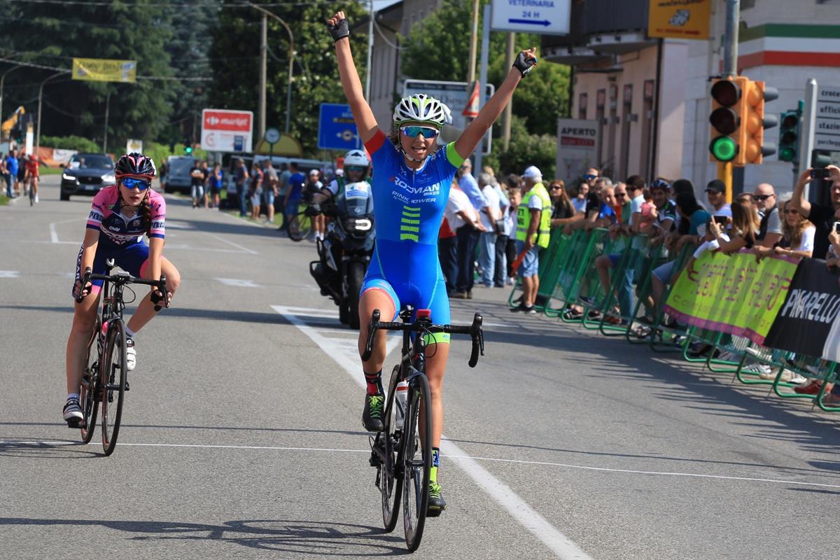 Martina Sanfilippo vince la gara Donne Esordienti di Cesano Maderno