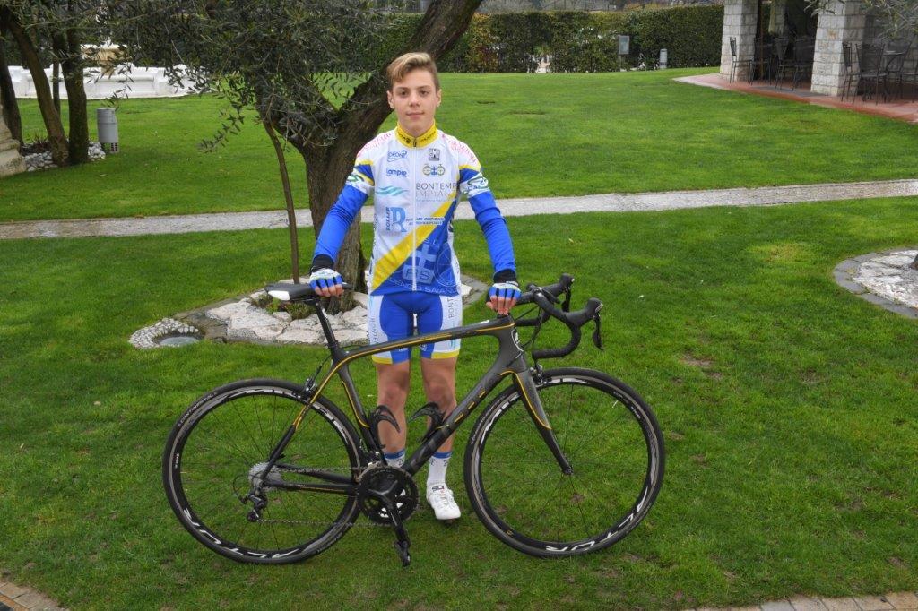 Mattia Gozio, esordiente 2° anno della Progetto Ciclismo Rodengo Saiano