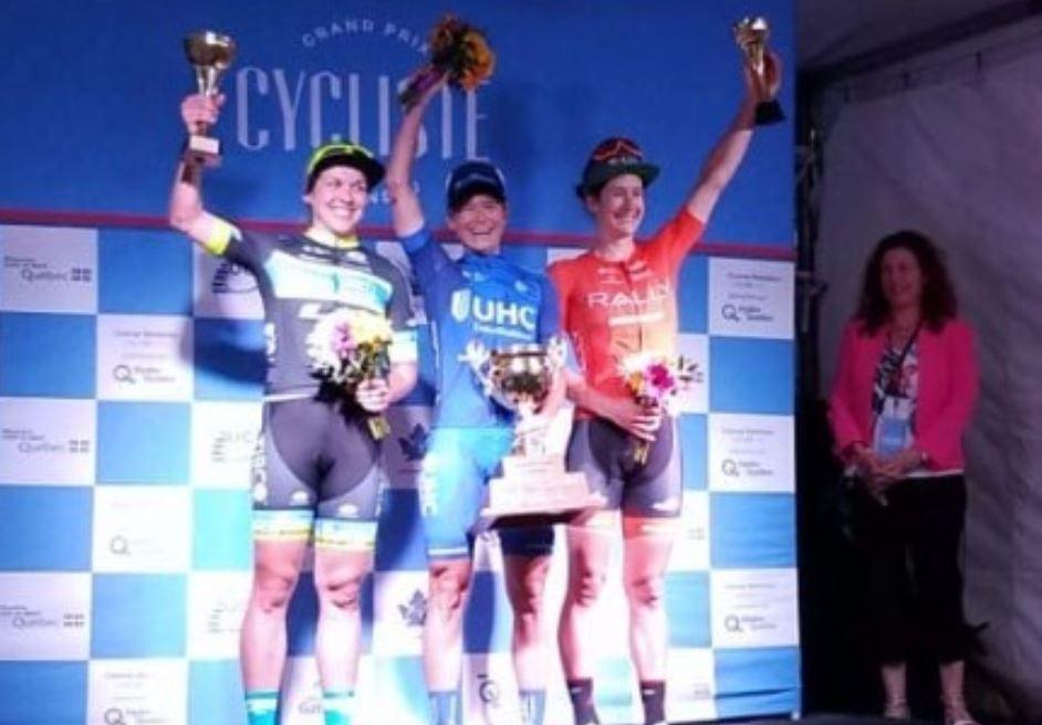 Lauren Hall vince il Grand Prix Cycliste de Gatineau