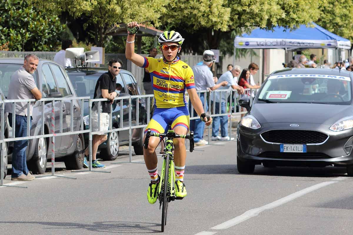 La vittoria di Daniel Vitale a Giussano