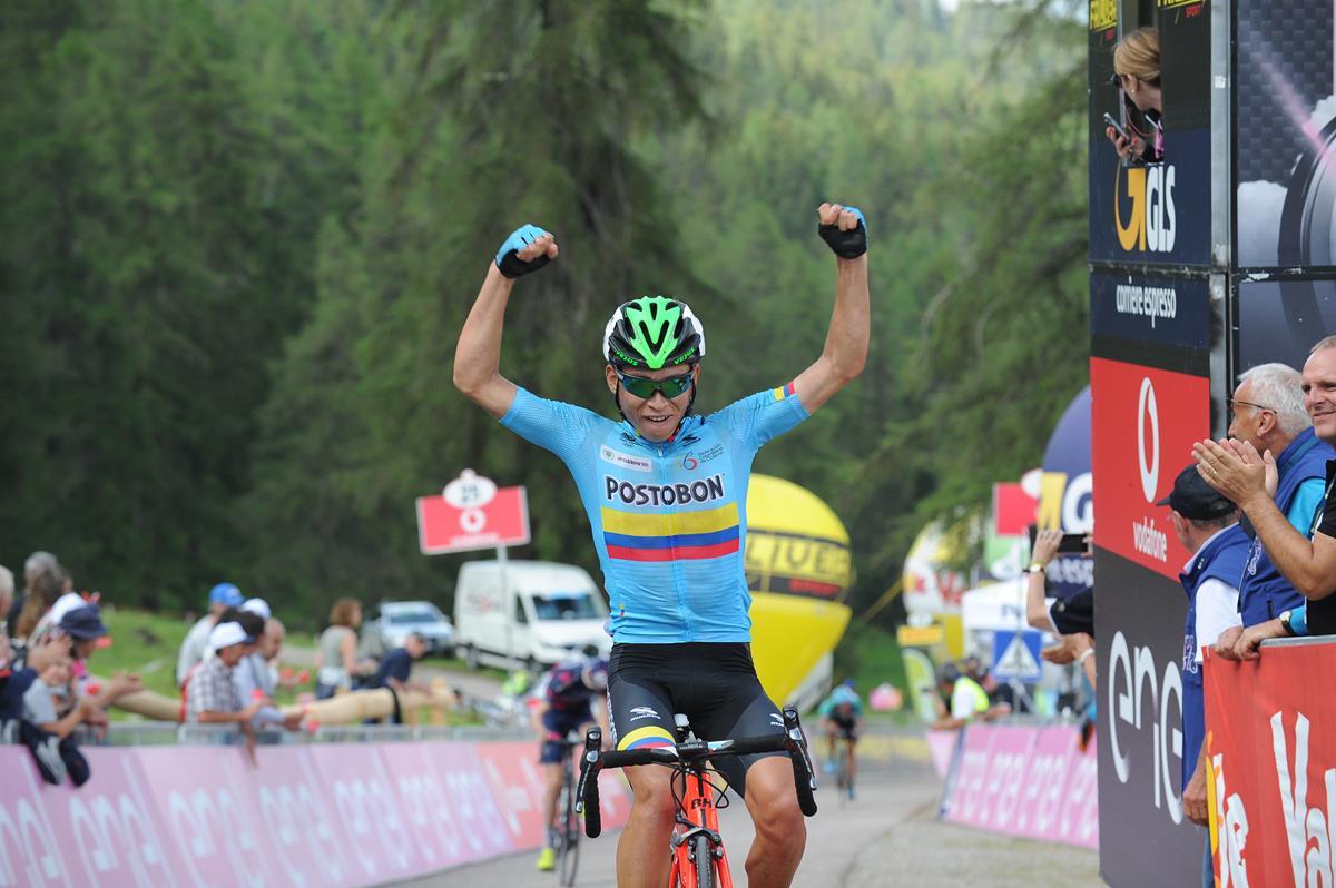 Einar Rubio vince la quinta tappa del Giro d'Italia Under 23 (foto IsolaPress)