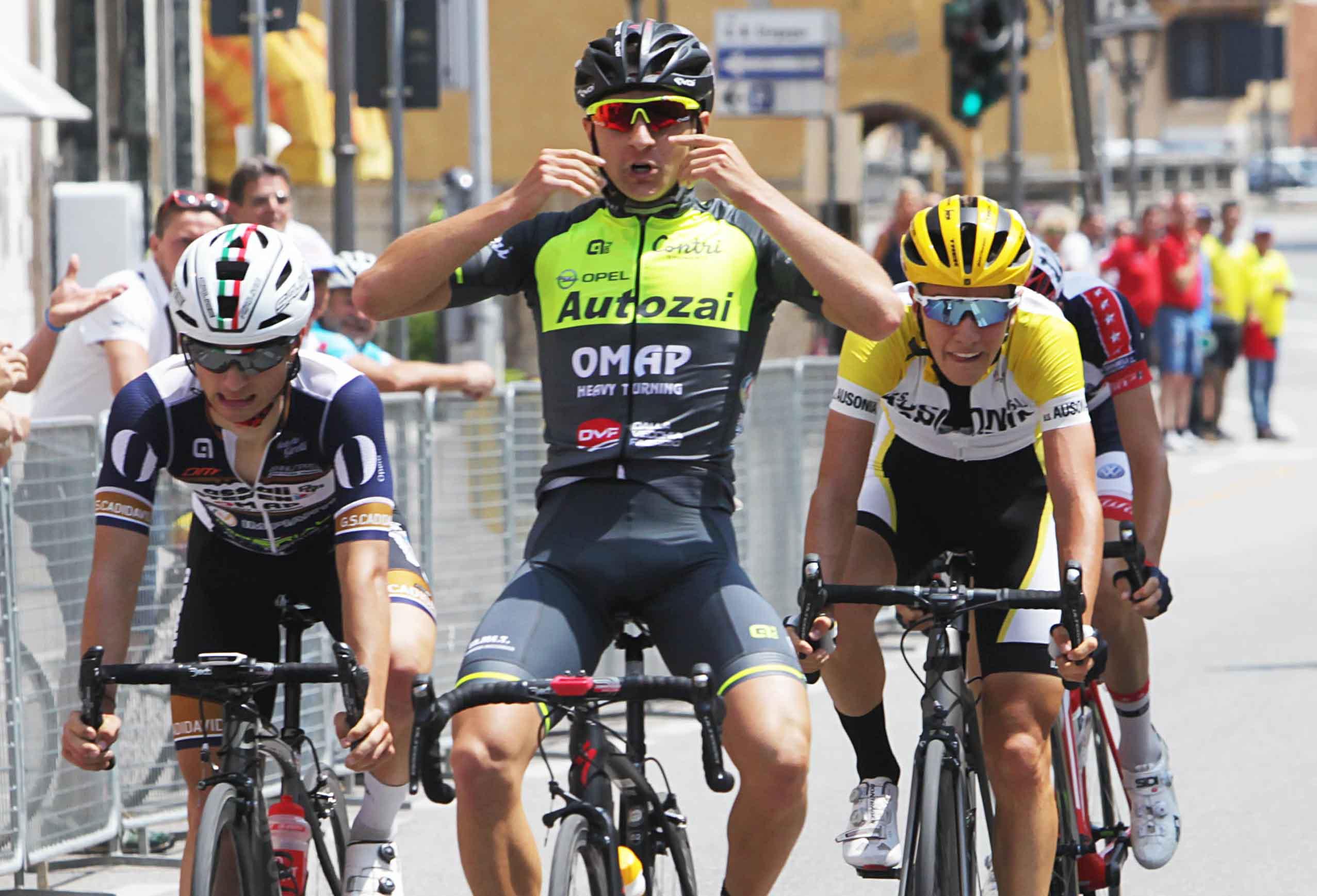 La vittoria di Mattia Petrucci a San Martino Buon Albergo