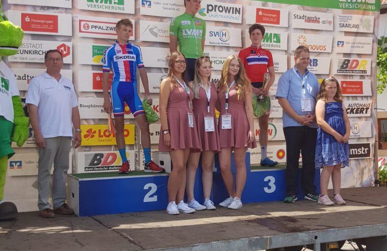 Il podio finale del 31° Saarland Trofeo