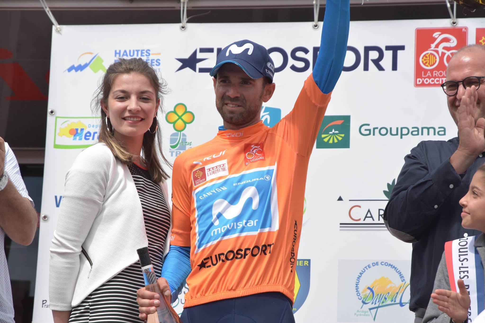 Alejandro Valverde vince La Route d'Occitanie 2018