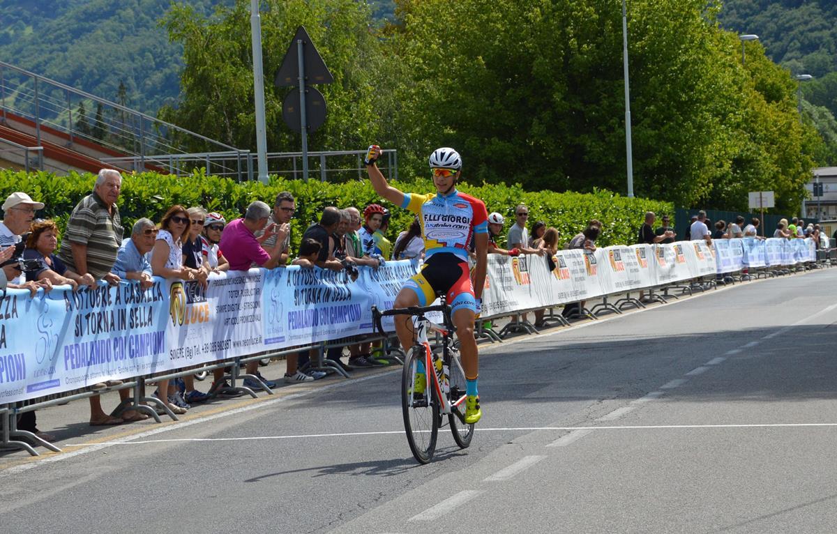 La vittoria di Andrea D'Amato a Casazza