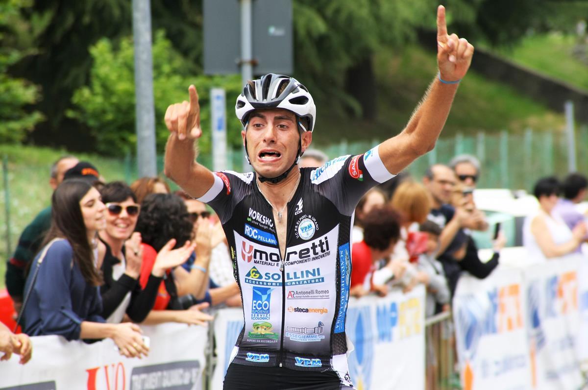 Andrea Di Renzo vince la Pessano-Roncola 2018