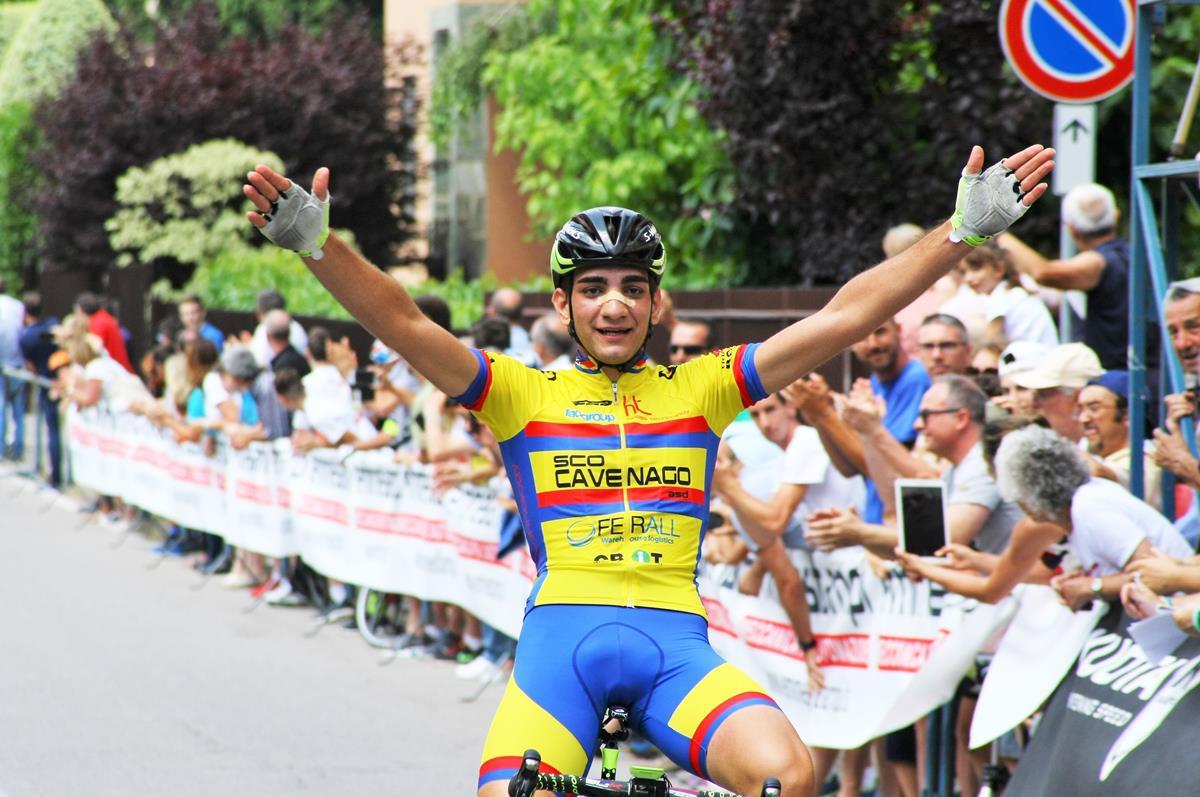 Andrea Piras vince il Campionato Lombardo Allievi ad Usmate Velate