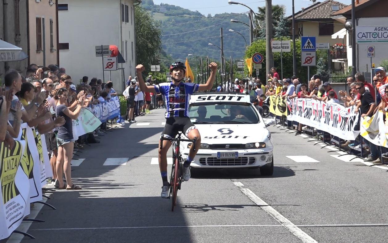 Dario Igor Belletta vince il Campionato Lombardo Esordienti 2° anno a Casnigo